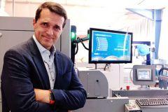 Hubert Pédurand, directeur général de La Nouvelle Imprimerie Laballery