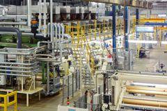 Production de liners chez Mondi en Allemagne