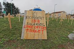 Les salariés de Loire Offset Titoulet (42) quittent l'imprimerie mais restent mobilisés