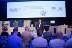 C'est Victor Abergel, directeur général et co-fondateur de MGI, qui a présenté cette dernière innovation.