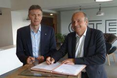 Jean Hornain, Directeur Général de Citeo et Gilles Lenon, Directeur Général du CTP