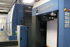 Une nouvelle presse offset Koenig & Bauer Rapida 105PRO à l'imprimerie Joubert