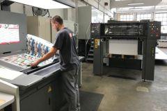 L'imprimerie ISF investit en dans une nouvelle presse offset