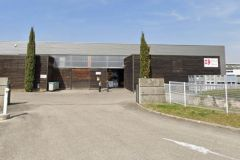 Locaux de l'ancienne imprimerie Pam à Brest (29)