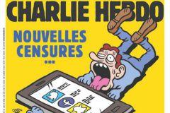 Une de Charlie Hebdo cinq ans après les attentats.