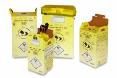 Gamme Embal.net de Cartospé Packaging destinée aux déchets d'activité de soins à risques infectieux (Dasri)