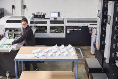 Livraison d'une nouvelle presse numérique à l'imprimerie Bardet (94)
