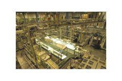 Hall de production des 48 pages à l'Imprimerie Sego de Taverny (95)