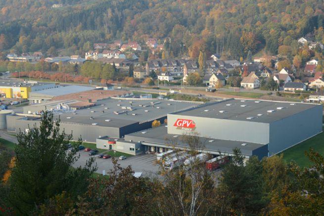 Le siège social de GPV France à Saint-Amarin en Alsace.