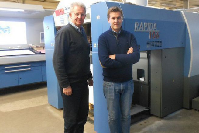 Frédéric Paillart et son fils Julien, respectivement la 6e et 7e génération à la tête de l'entreprise