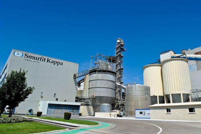 La papeterie Smurfit Kappa Cellulose du Pin située à Biganos en Gironde