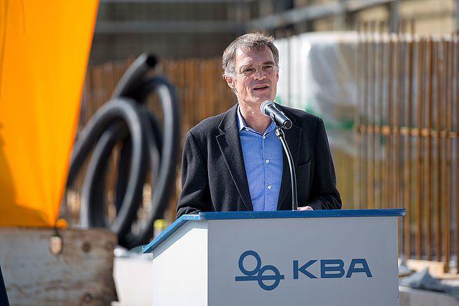 Claus-Bolza-Schünemann, président de KBA.
