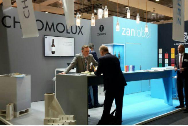 Le papetier Zander à Labelexpo Europe 2019.