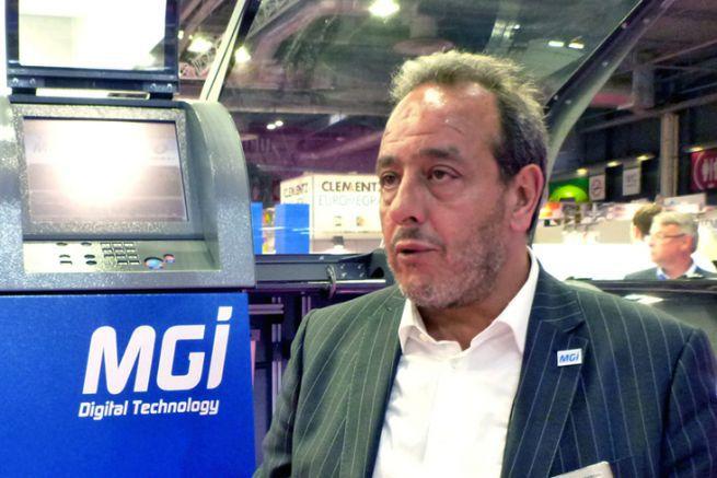 Victor Abergel, directeur général de MGI