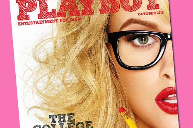 Une de Playboy octobre 2015, édition USA.