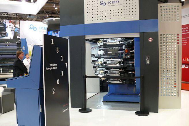 Machine à impression sur métal CS MetalCan KBA destinée au marché des boîtes boisson en 2 parties.